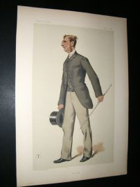 Vanity Fair Print 1881  Vice-Admiral Sir Edmund Commerell